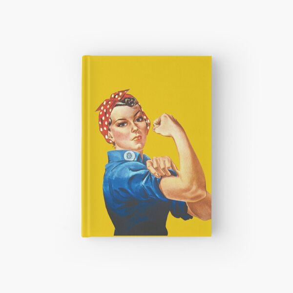 Rosie the Riveter Hardcover Journal