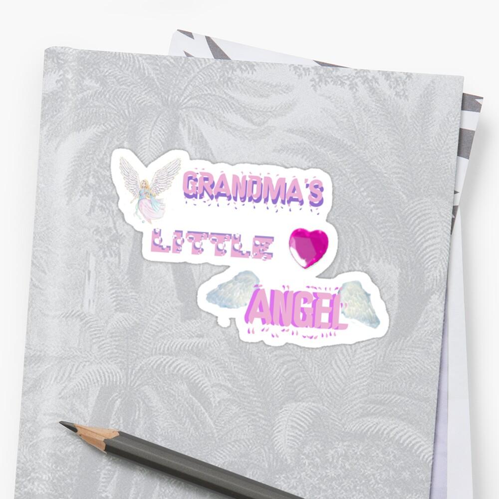 Grandma's Little Angel Tshirt by judygal