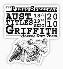 Griffith Aust. Titles STICKER Sticker