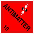 Antimatter: Hazardous! by glyphobet