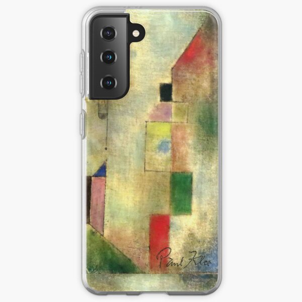 Paul Klee | Red Balloon | Klee-inspired Fine Art w/ Signature Samsung Galaxy Soft Case