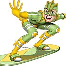 Superheroes - SuperSurfer by GerbArt