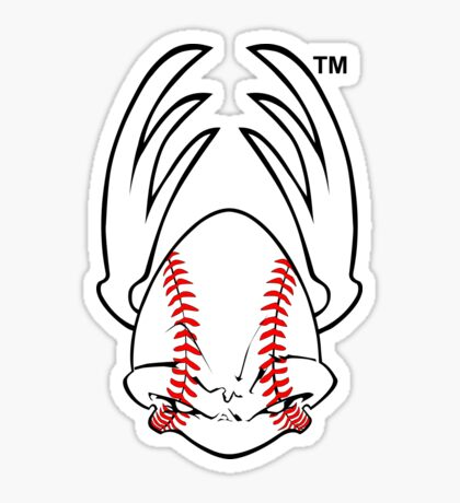 Sports Mascot - Basseball Sticker