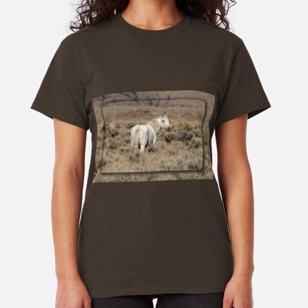 Lone White Stallion Classic T-Shirt