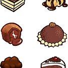 Chocolate treats by Joumana Medlej