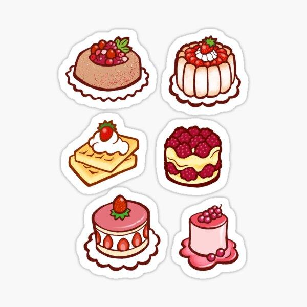 Fruity Treats Sticker