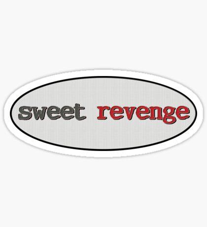 sweet revenge - sticker Sticker