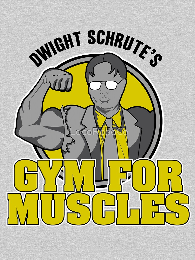 Dwight Schrute's Gym for Muscles | Unisex T-Shirt