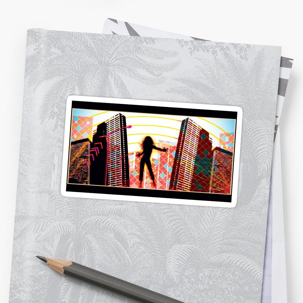 my city - sticker by vampvamp