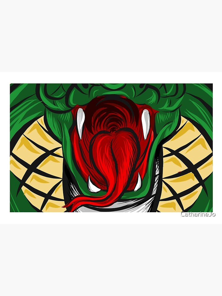 Cobra Face Mask 2 by CatharineJo