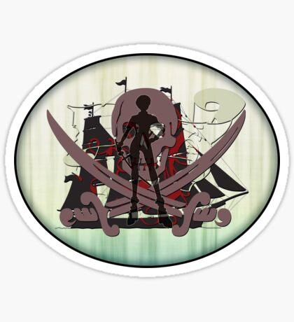 Pirates of the Inbetween - sticker Sticker