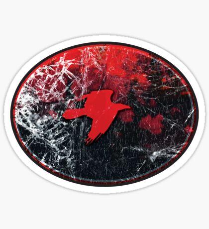 shattered flight - sticker Sticker