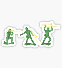 Trombone Army Sticker