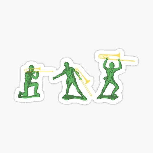Trombone Army Sticker