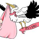 Stork - It's a girl! by trossi