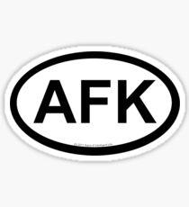 AFK location sticker Sticker