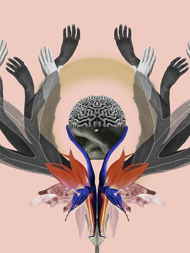 Freedom - Independence, flowers, fantasy, brain, light by ilariaantolini