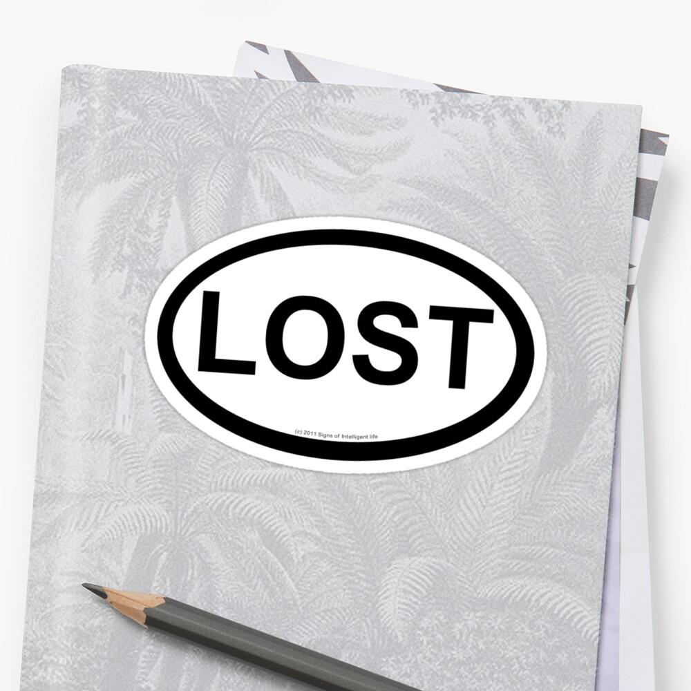 Lost location sticker by SOIL