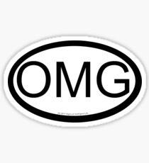 OMG location sticker Sticker