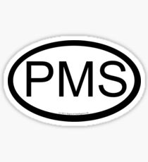 PMS location sticker Sticker