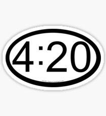 420 location sticker Sticker
