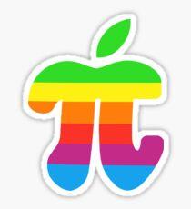 Apple Pi Sticker Sticker