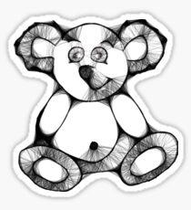 Scribbler Teddy Sticker