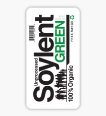 Contents: Unprocessed Soylent Green (STICKER) Sticker
