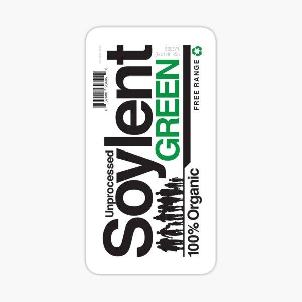 Contents: Unprocessed Soylent Green (STICKER) Sticker