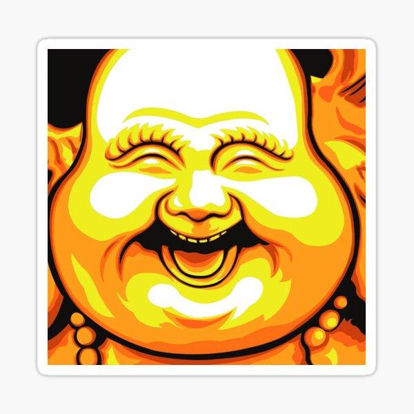 Buddha stickers Sticker