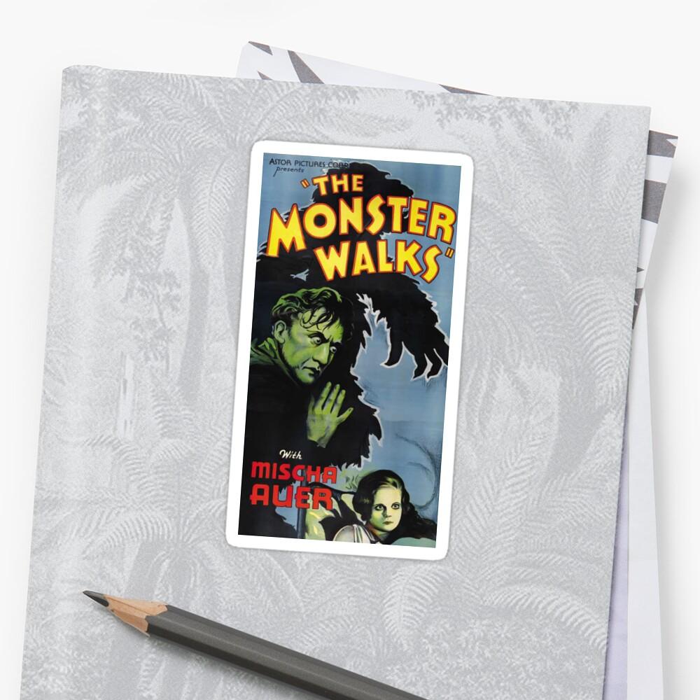 The Monster Walks by Jenn Kellar