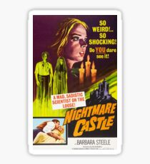 Nightmare Castle Sticker