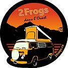 2 Frogs Français NOIR by 2Frogs