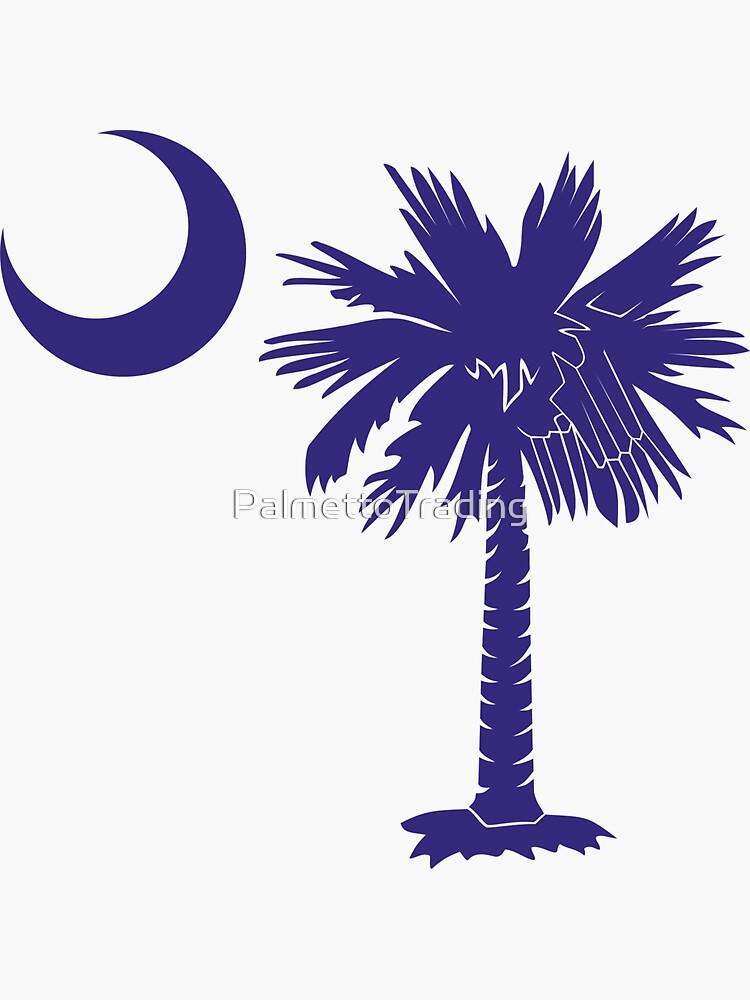 Purple Palmetto Moon by PalmettoTrading