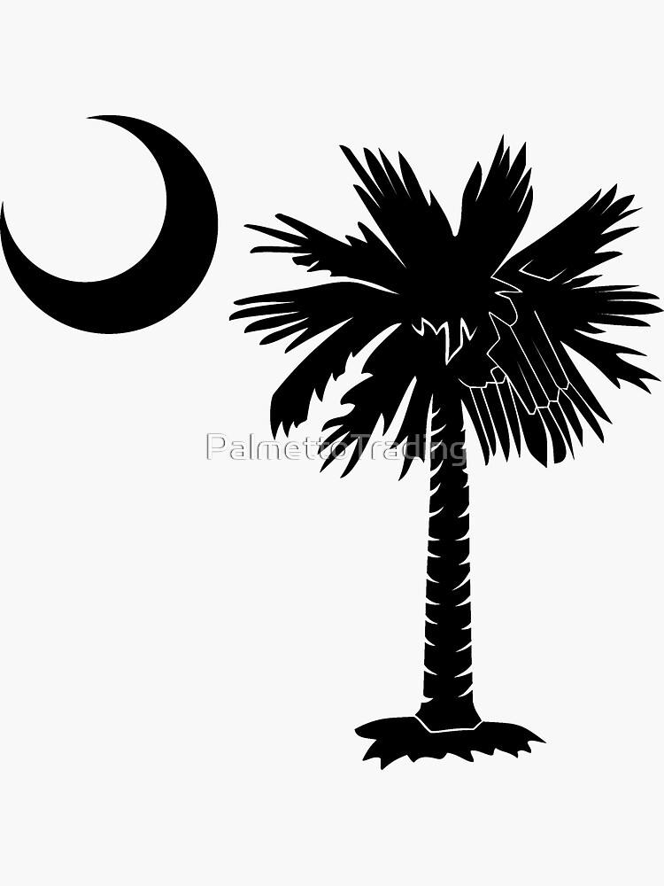 Black Palmetto Moon de PalmettoTrading