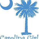 Light Blue Carolina Girl Palmetto Moon by PalmettoTrading