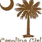 Brown Carolina Girl Palmetto Moon by PalmettoTrading