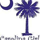 Purple Carolina Girl Palmetto Moon by PalmettoTrading