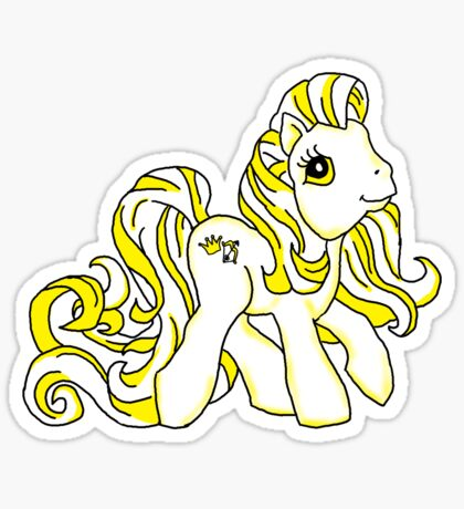 Conquest Pony Sticker