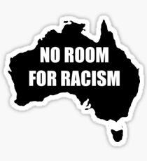 Australia - No Room For Racism Sticker