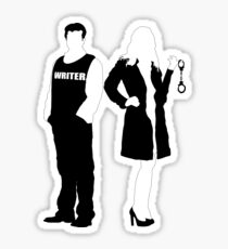 Castle& Beckett sticker Sticker