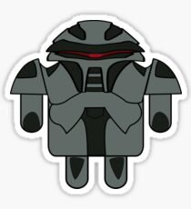 DroidArmy: Cylon Sticker Sticker