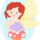 A baby fairy T shirt for Kids (2268 Views) by aldona