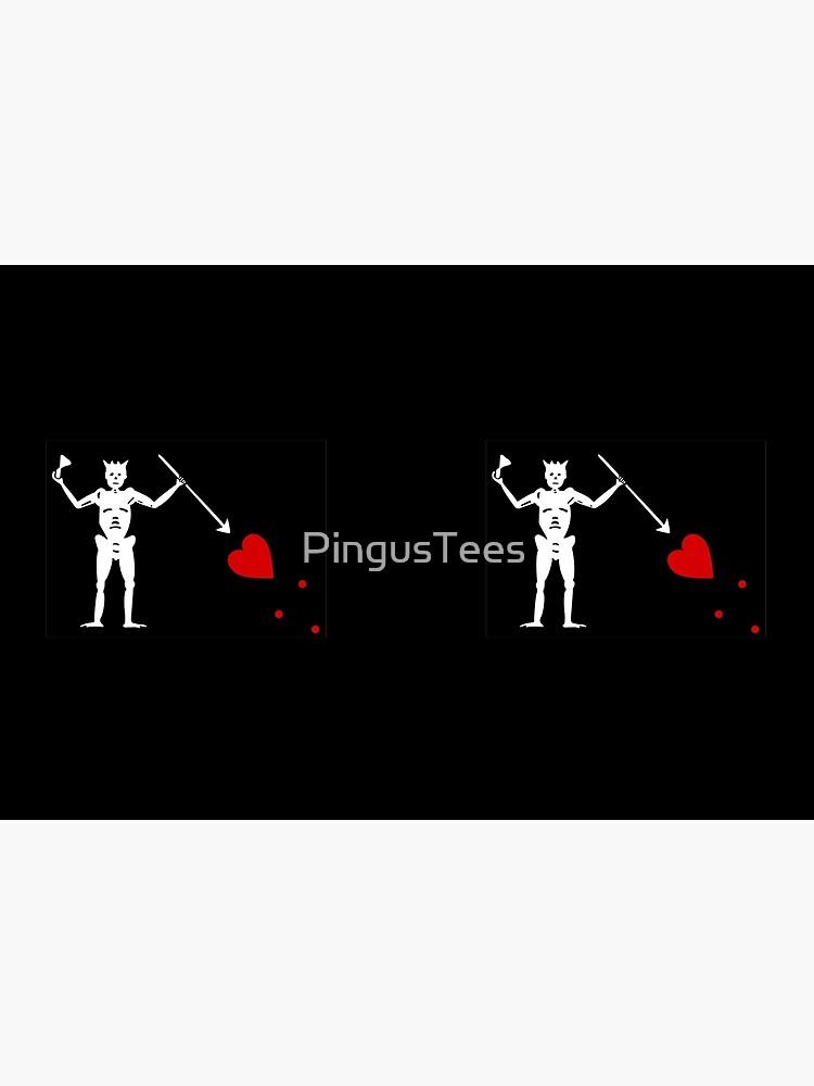 Pirate Flag - Blackbeard by PingusTees