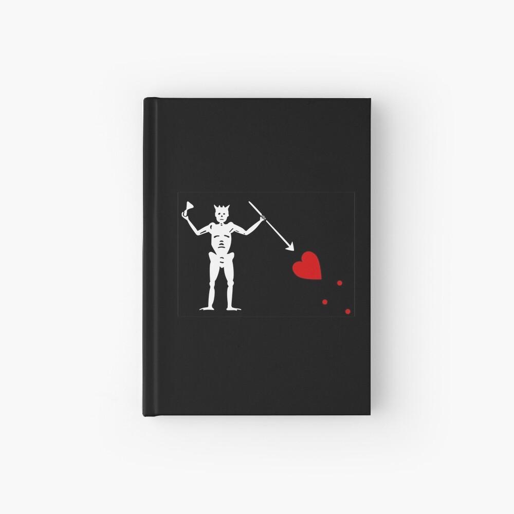 Pirate Flag - Blackbeard Hardcover Journal
