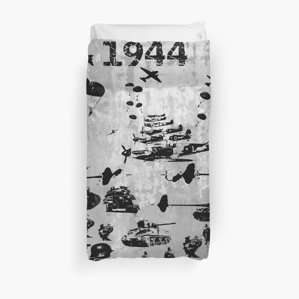 1944 WORLD WAR 2 Duvet Cover
