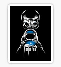 Doctor Who - Impossible Astronaut - STICKER Sticker