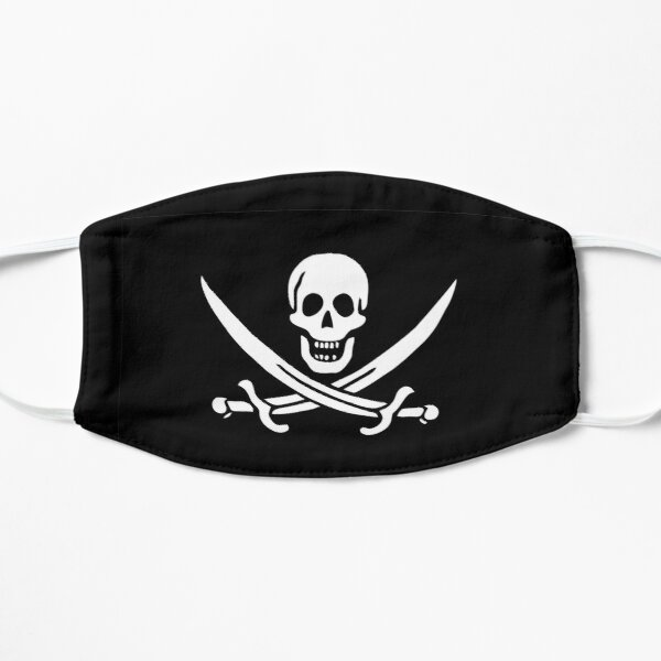 Pirate Flag - Calico Jack Flat Mask