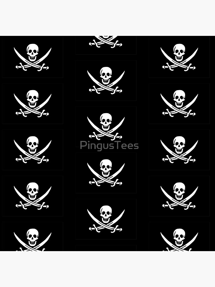 Pirate Flag - Calico Jack by PingusTees