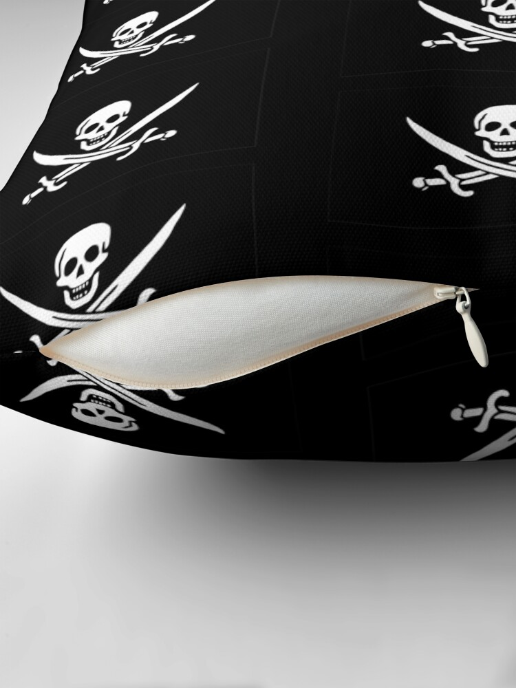 Alternate view of Pirate Flag - Calico Jack Floor Pillow